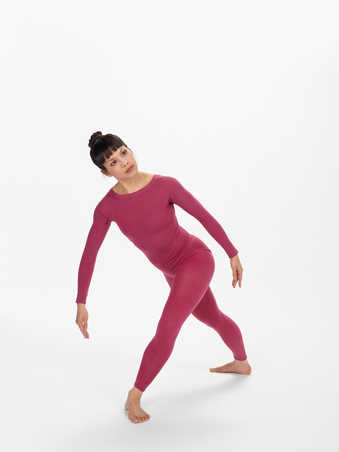 COSTUMES: Colored nylon leotards and tights, one polyester set, one wool leotardFIRST...
