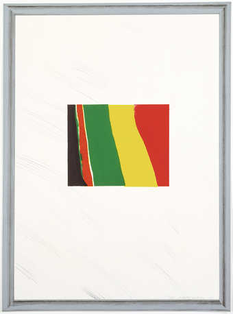 A set of six color lithographs