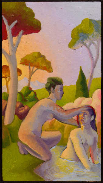 figures in landscape