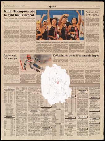 The Daily Yomiuri 1/18/98 (sports)