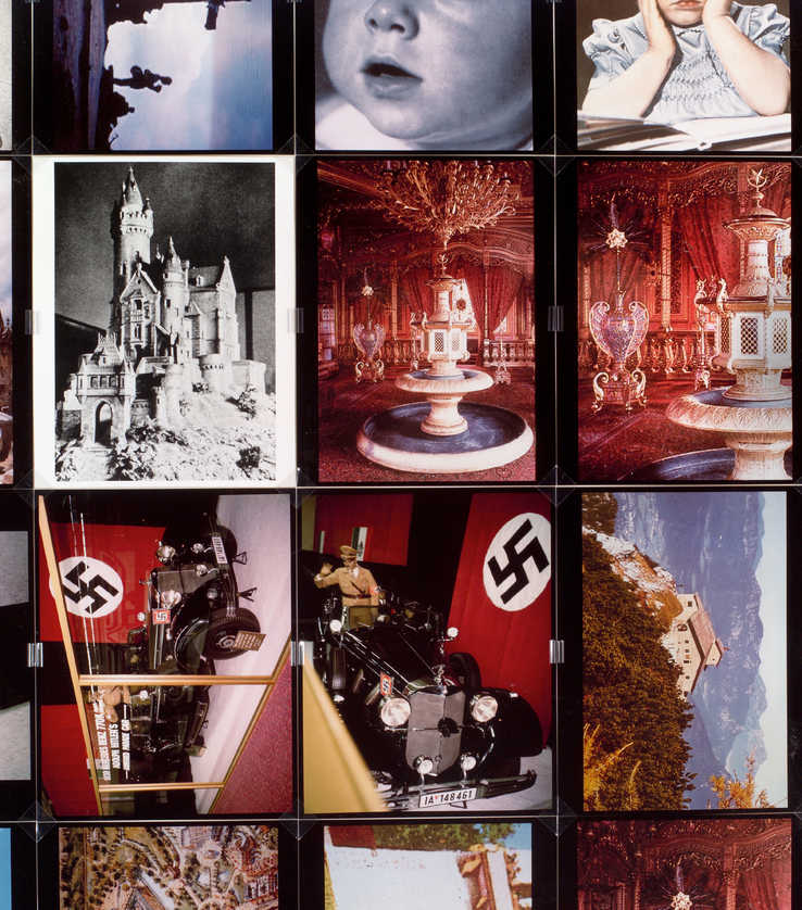 selections of 8 x 10 photographs with images of Disneyland and  other American pop items and...