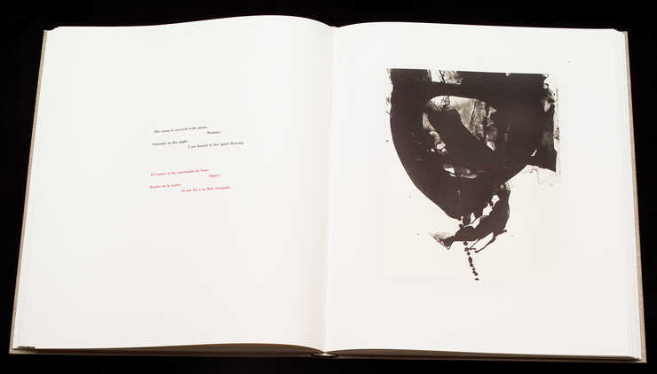 An artist's book of twenty-seven original lithographs by Motherwell and three poems by...