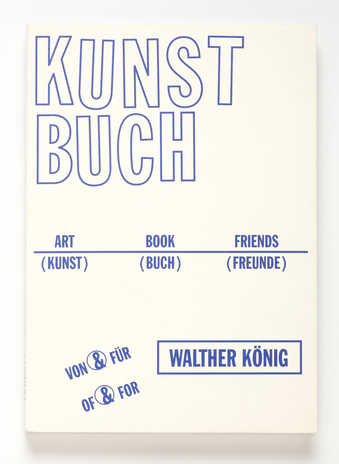 Contribution to Art & Book & Friends. Ein Album fur Walther Konig, Ed. Michael Diers and...